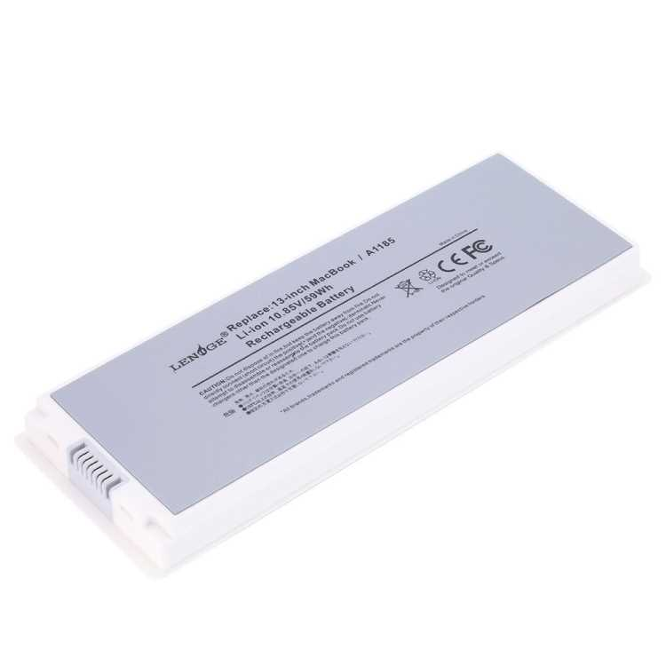 macbook A1185 battery white back