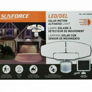 Sunforce 1500 Lumen LED Solar light